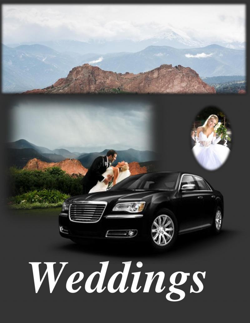 Monument Limousine Service-Weddings